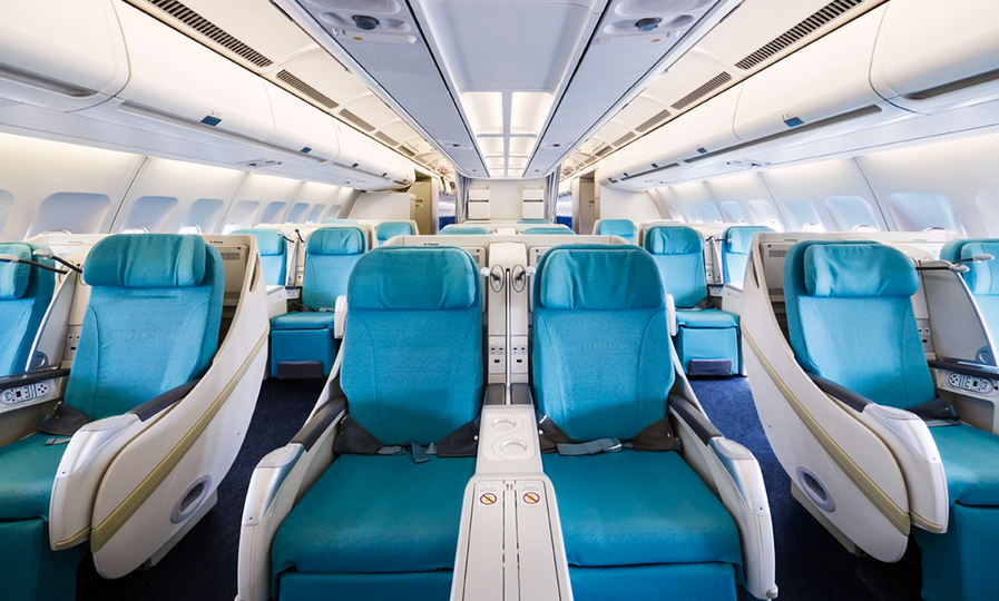 Czech Airlines Business Class from Prague to Seoul