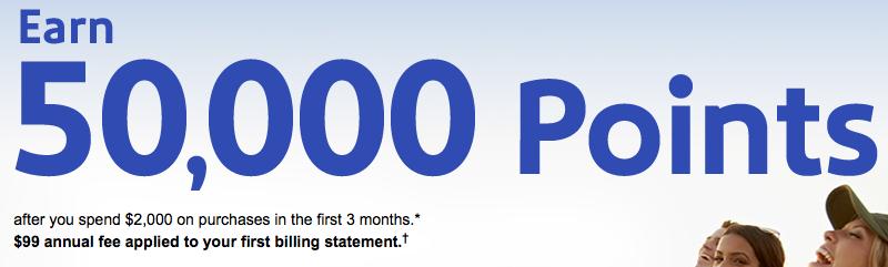 50,000 Point Sign-up Bonus Back on Southwest Credit Cards-1