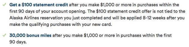 30,000 Miles + $100 Welcome Bonus on the Alaska Airlines Visa-01