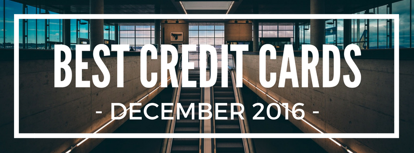 best credit card sign-up bonus offers december 2016